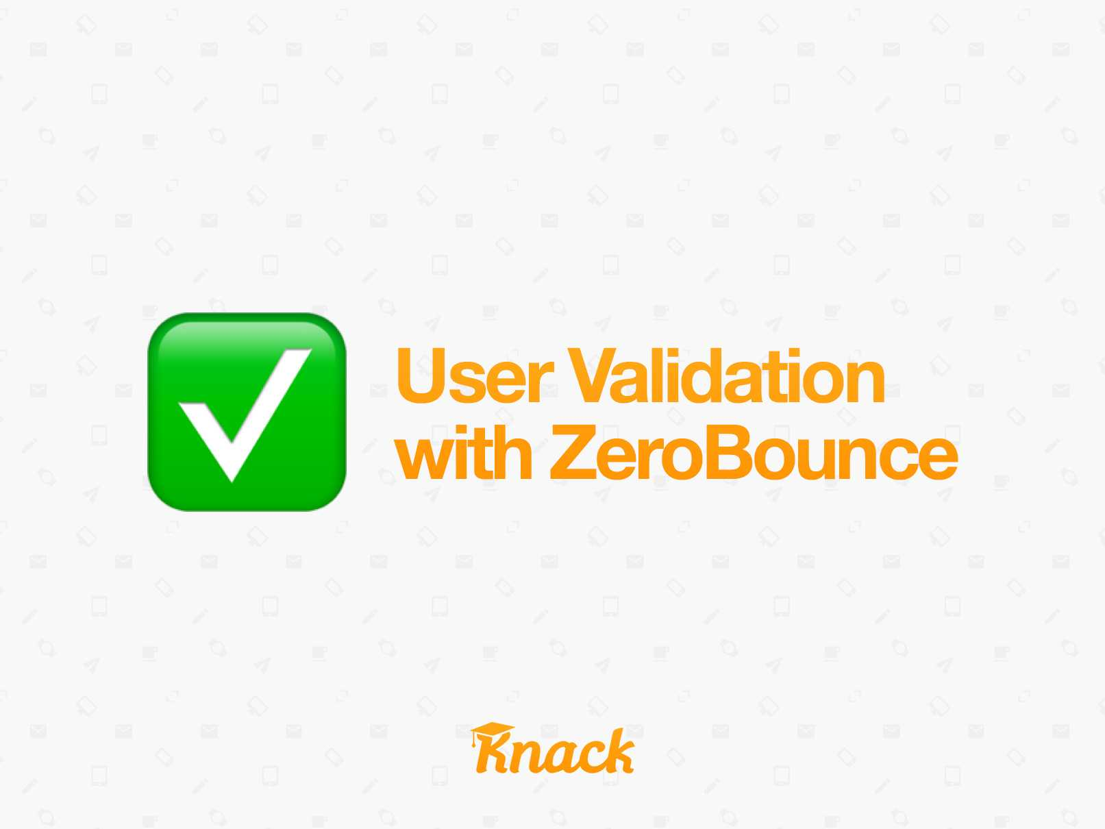 User Validation with ZeroBounce cover image